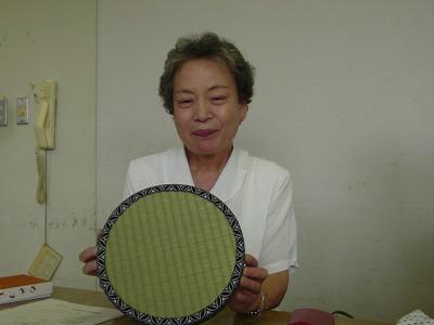 【畳の小物製作体験学習〜円形畳製作偏〜】畳の材料を利用して素敵な小物作り4