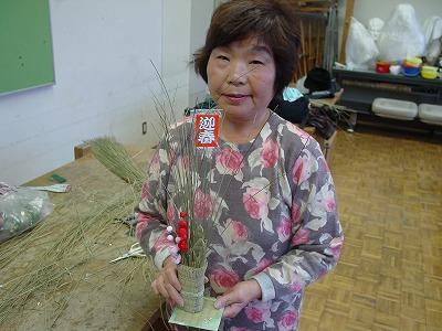 【畳の小物製作体験学習〜クリスマスリース製作偏〜】畳の材料を利用して素敵な小物作り5