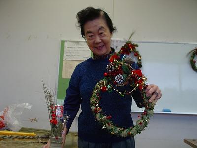 【畳の小物製作体験学習〜クリスマスリース製作偏〜】畳の材料を利用して素敵な小物作り6