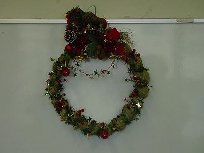 【畳の小物製作体験学習〜クリスマスリース製作偏〜】畳の材料を利用して素敵な小物作り9
