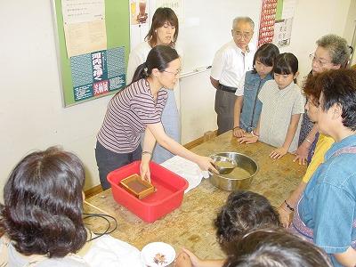 【畳の小物製作体験学習〜いぐさ手漉き和紙手紙編〜】畳の材料を利用して素敵な小物作り02