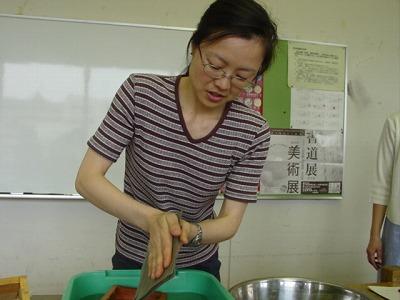 【畳の小物製作体験学習〜いぐさ手漉き和紙手紙編〜】畳の材料を利用して素敵な小物作り055