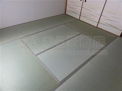 やっぱり国産畳で畳替えがココチイイ・・・。大阪大東市家庭用国産畳専門店うえむら畳1