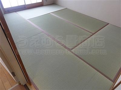 やっぱり国産畳で畳替えがココチイイ・・・。大阪大東市家庭用国産畳専門店うえむら畳3