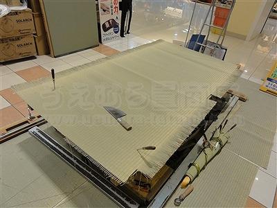 大阪の畳屋さん『だいとうの魅力発見展』に出店して参りましたッ!!大阪府大東市家庭用国産畳専門店いまどきの畳屋さんうえむら畳1