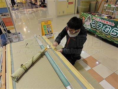 大阪の畳屋さん『だいとうの魅力発見展』に出店して参りましたッ!!大阪府大東市家庭用国産畳専門店いまどきの畳屋さんうえむら畳12