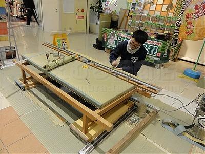 大阪の畳屋さん『だいとうの魅力発見展』に出店して参りましたッ!!大阪府大東市家庭用国産畳専門店いまどきの畳屋さんうえむら畳15