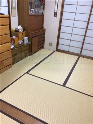 大阪の畳屋さん本日のお仕事畳ベッド編 大阪府大東市家庭用国産畳専門店いまどきの畳さんうえむら畳1