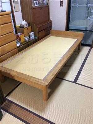 大阪の畳屋さん本日のお仕事畳ベッド編 大阪府大東市家庭用国産畳専門店いまどきの畳さんうえむら畳
