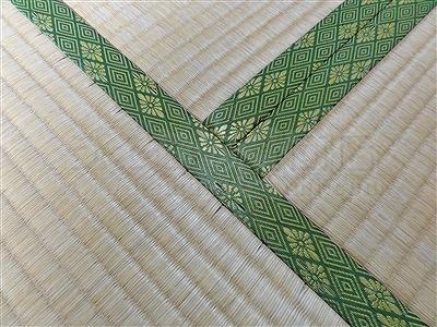 大阪畳大東市モモサクラ新畳施工事例。家庭用国産畳専門店いまどきの畳屋さんうえむら畳2