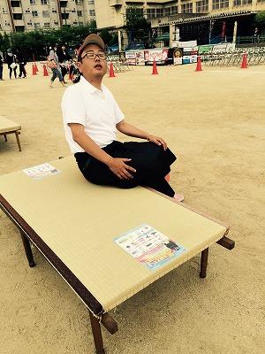 大阪の畳屋さん「のざき(野崎)プロレス」に参戦ッ!!家庭用国産畳専門店いまどきの畳屋さんうえむら畳004