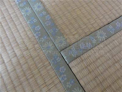 花柄から花柄へ家庭用国産畳新畳薄畳施工事例(大阪府豊中市マンション)いまどきの畳屋さん2