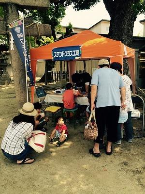 てくてくマルシェ×納豆大直売会(第二回)に大阪うえむら畳が出店させていただきましたッ!3