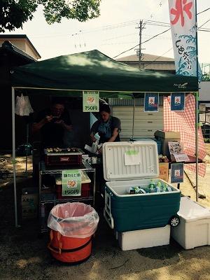 てくてくマルシェ×納豆大直売会(第二回)に大阪うえむら畳が出店させていただきましたッ!4