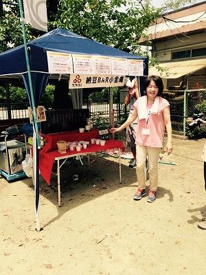 てくてくマルシェ×納豆大直売会(第二回)に大阪うえむら畳が出店させていただきましたッ!10