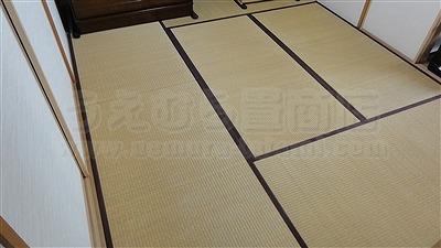 【琉球畳】ご縁で繋がるご依頼・・・。(東大阪縁無し琉球畳施工事例)イマドキの畳屋さんうえむら畳1
