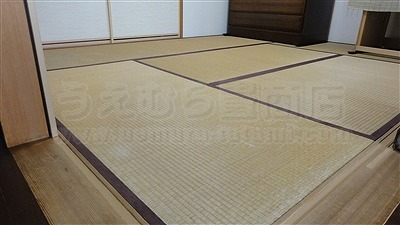 【琉球畳】ご縁で繋がるご依頼・・・。(東大阪縁無し琉球畳施工事例)イマドキの畳屋さんうえむら畳2