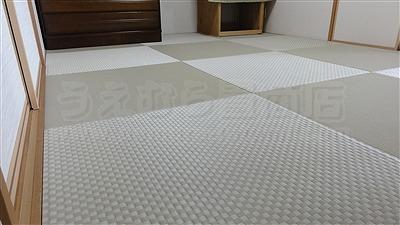 【琉球畳】ご縁で繋がるご依頼・・・。(東大阪縁無し琉球畳施工事例)イマドキの畳屋さんうえむら畳8