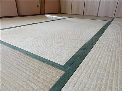 カラー市松柄縁無し琉球畳が6帖間のお部屋をステキに模様替え(大阪大東市)2