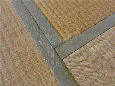 NEWアースカラー極薄縁無し琉球畳施工事例(大阪大東市)いまどきの畳屋さん家庭用国産畳専門店うえむら畳2