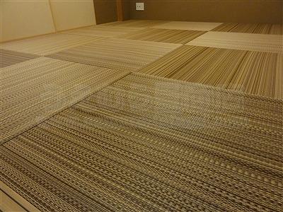 NEWアースカラー極薄縁無し琉球畳施工事例(大阪大東市)いまどきの畳屋さん家庭用国産畳専門店うえむら畳9