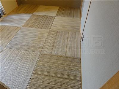 NEWアースカラー極薄縁無し琉球畳施工事例(大阪大東市)いまどきの畳屋さん家庭用国産畳専門店うえむら畳10