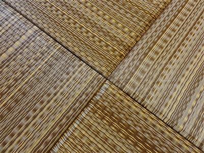 NEWアースカラー極薄縁無し琉球畳施工事例(大阪大東市)いまどきの畳屋さん家庭用国産畳専門店うえむら畳11