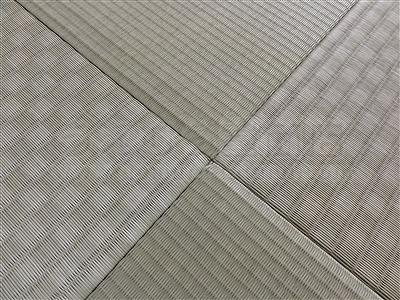 カラー琉球畳に変更で傷み破れを解消(大阪大東市)家庭用国産畳専門店いまどきの畳屋さんうえむら畳4