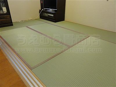 トイレ部屋状態もペット用対応畳に模様替えでネコも人も快適暮らし(大阪交野市)家庭用国産畳専門店いまどきの畳屋さんうえむら畳3