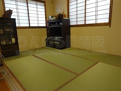 トイレ部屋状態もペット用対応畳に模様替えでネコも人も快適暮らし(大阪交野市)家庭用国産畳専門店いまどきの畳屋さんうえむら畳4