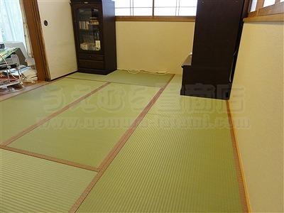 トイレ部屋状態もペット用対応畳に模様替えでネコも人も快適暮らし(大阪交野市)家庭用国産畳専門店いまどきの畳屋さんうえむら畳12