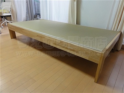 大阪オーダーメイド畳ベッド:ベッドらしく無いベッドが欲しい・・・。家庭用国産畳専門店いまどきの畳屋さんうえむら畳1