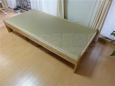 大阪オーダーメイド畳ベッド:ベッドらしく無いベッドが欲しい・・・。家庭用国産畳専門店いまどきの畳屋さんうえむら畳2