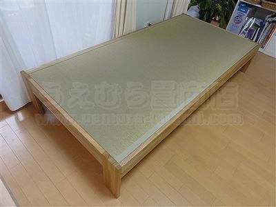 大阪オーダーメイド畳ベッド:ベッドらしく無いベッドが欲しい・・・。家庭用国産畳専門店いまどきの畳屋さんうえむら畳4