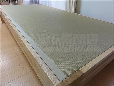 大阪オーダーメイド畳ベッド:ベッドらしく無いベッドが欲しい・・・。家庭用国産畳専門店いまどきの畳屋さんうえむら畳6