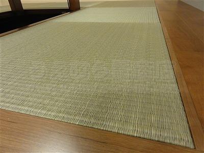 大分県産七島い草使用本物の琉球畳施工事例。(大阪府大阪市)家庭用国産畳専門店うえむら畳7