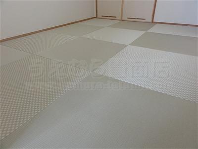 【大阪縁無し琉球畳】年末キャンペーンでお得な模様替えで大満足。いまどきの畳屋さん家庭用国産畳専門店うえむら畳7
