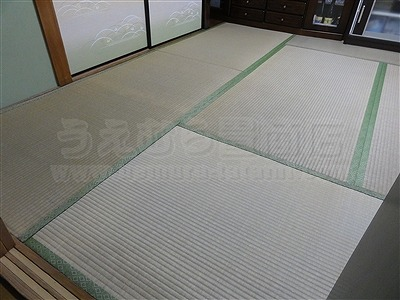 畳の裏返しは新畳表替えから5年〜7年が目安ですよ。(大東市)大阪大東市家庭用国産畳専門店うえむら畳1