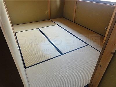 純和風から純白TATAMIへ模様替える(大阪門真市縁無し琉球畳施工事例)イマドキの畳屋さんうえむら畳1