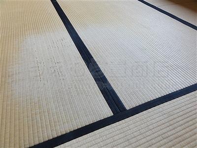 純和風から純白TATAMIへ模様替える(大阪門真市縁無し琉球畳施工事例)イマドキの畳屋さんうえむら畳2