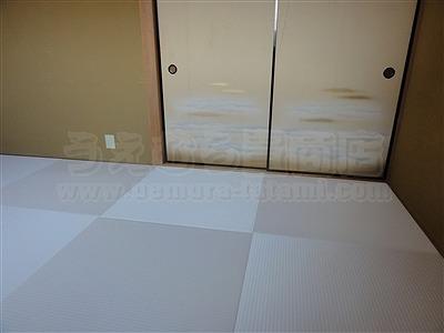 純和風から純白TATAMIへ模様替える(大阪門真市縁無し琉球畳施工事例)イマドキの畳屋さんうえむら畳6