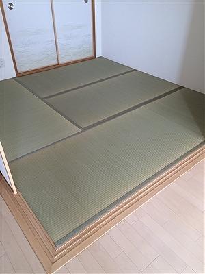 厚み15ミリの極薄畳を表替え。(大阪大東市)安全安心家庭用国産畳専門店うえむら畳3