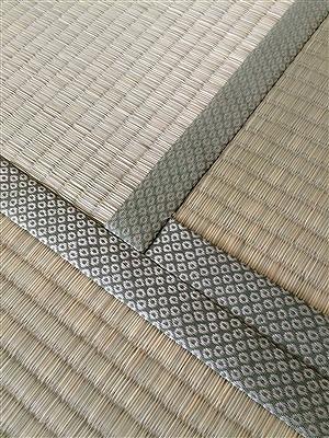 厚み15ミリの極薄畳を表替え。(大阪大東市)安全安心家庭用国産畳専門店うえむら畳4