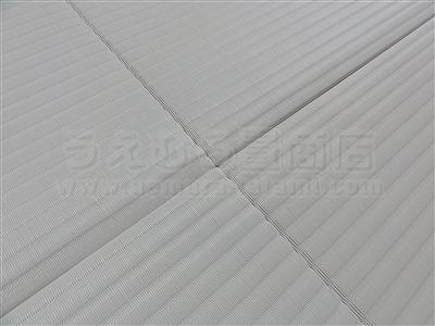 純白色縁無し琉球畳に模様替えでウキウキ暮らし・・・。大阪家庭用国産畳専門店うえむら畳6