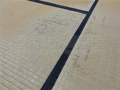 キャスターで傷む床(フローリング・畳)をチェアーマット敷きでカンタン解決ッ!大阪家庭用国産畳専門店うえむら畳2