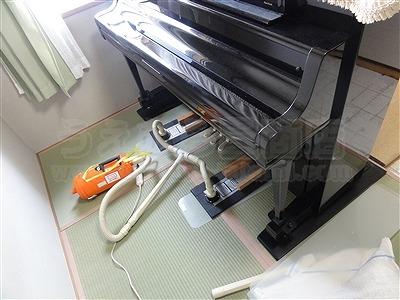和室の畳部屋にピアノがあっても畳替えは可能なんですよッ!!4