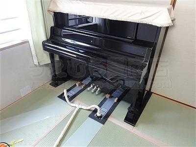和室の畳部屋にピアノがあっても畳替えは可能なんですよッ!!5