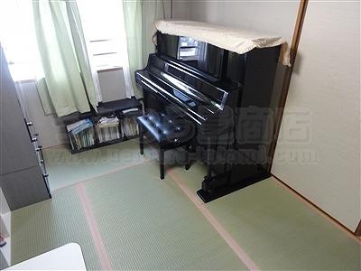 依頼すれば良かったッ!和室の畳部屋にピアノがあっても畳替えは可能なんですよッ!!(大阪都島区)1