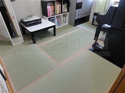 依頼すれば良かったッ!和室の畳部屋にピアノがあっても畳替えは可能なんですよッ!!(大阪都島区)3