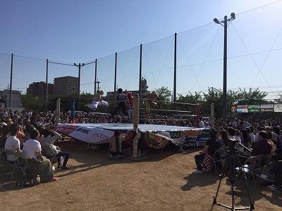第3回野崎プロレスに参加させていただきましたッ!大阪イマドキの畳屋さんうえむら畳12